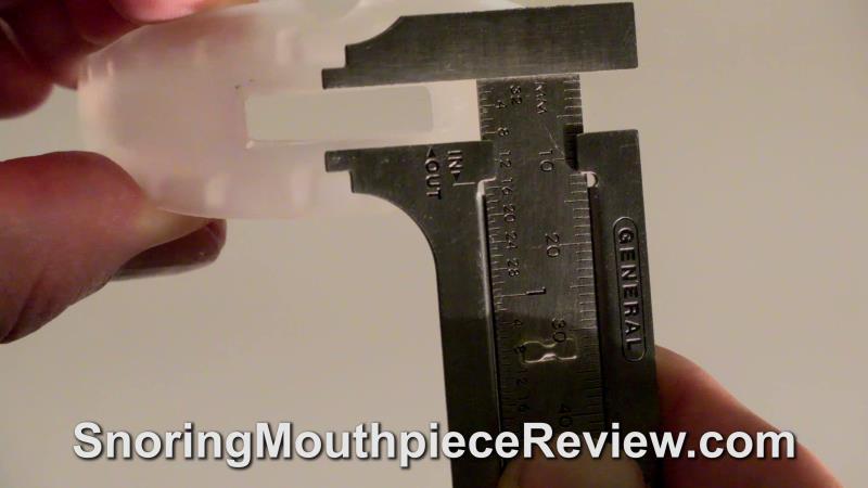 SleepTight Mouthpiece airway measturement