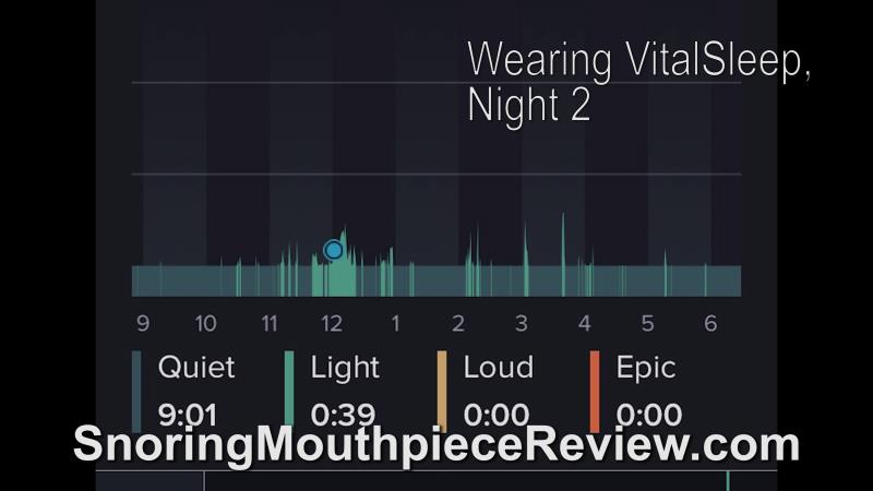 with vitalsleep night 2