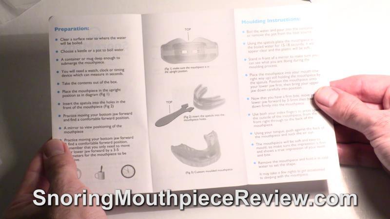 snoremeds instructions