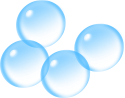 clean bubbles
